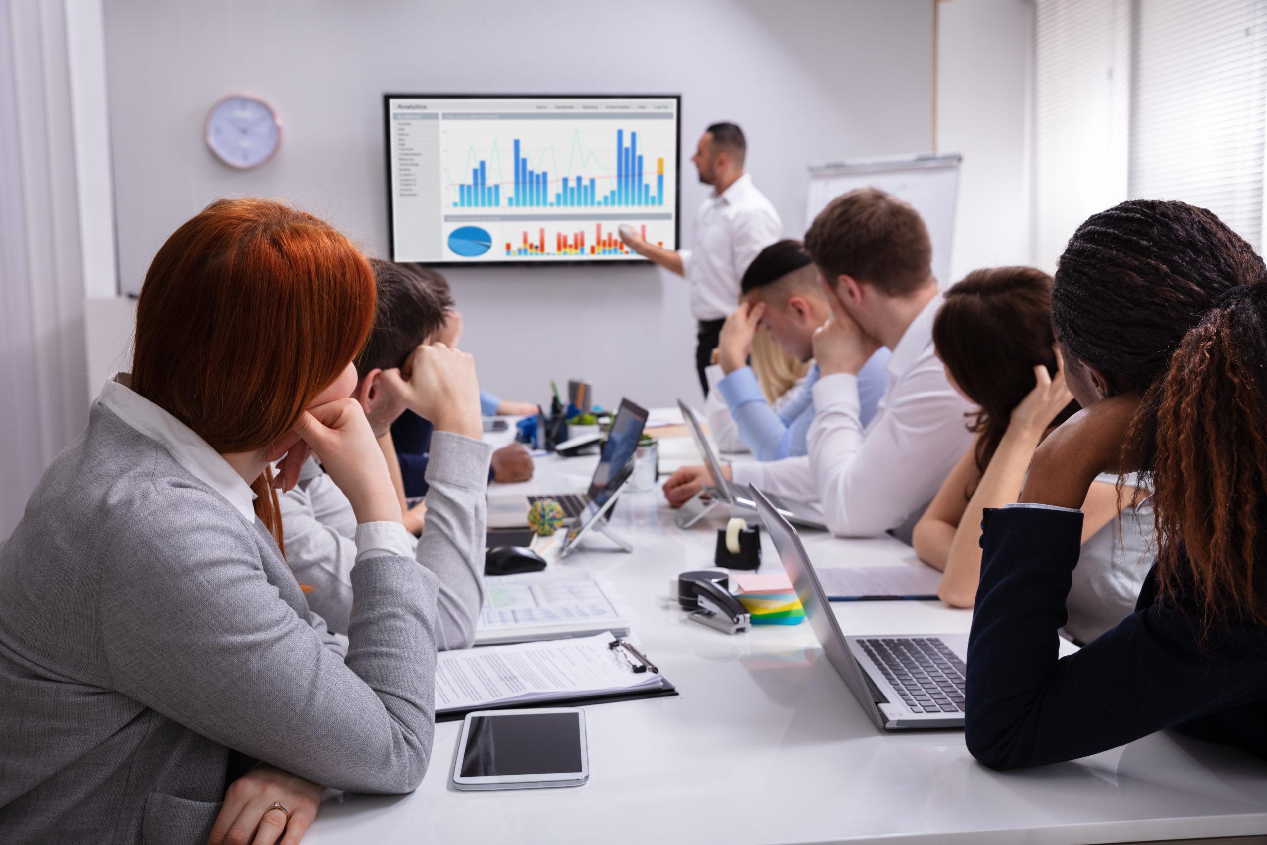 Langweilige Meetings? Nicht mit uns.